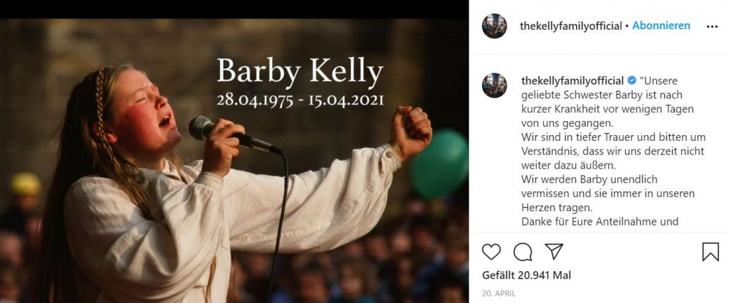 thekellyfamilyofficial instagram